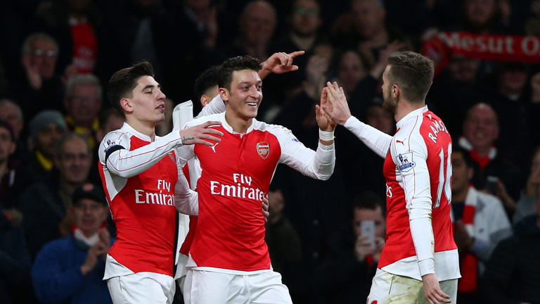 Arsenal fans buoyed by Ozil rumorus
