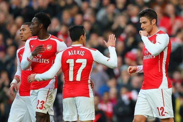 Wenger lauds Giroud as Arsenal beat Leicester 4-3