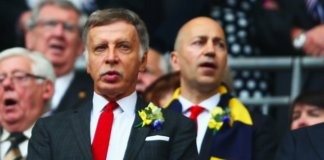 Stan Kroenke and Ivan Gazidis