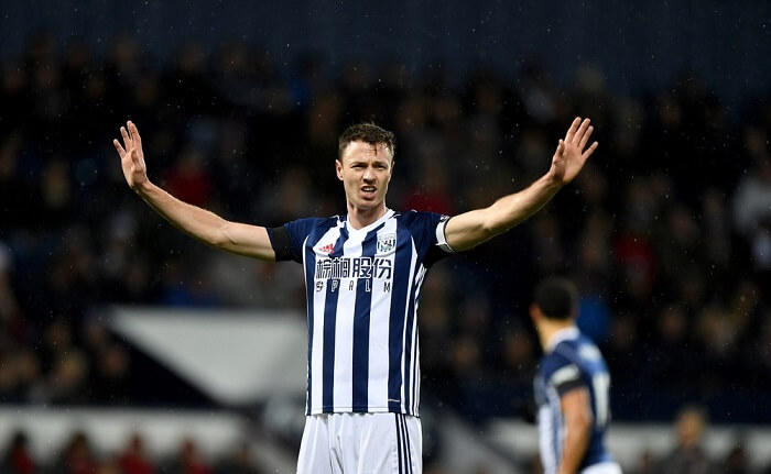 Two clubs make contact with West Brom over Jonny Evans transfer