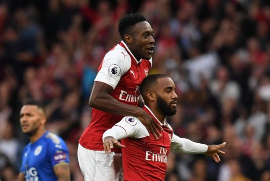 Welbeck and Lacazette