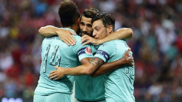 Arsenal Celebration