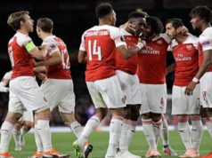 Arsenal Celebrations